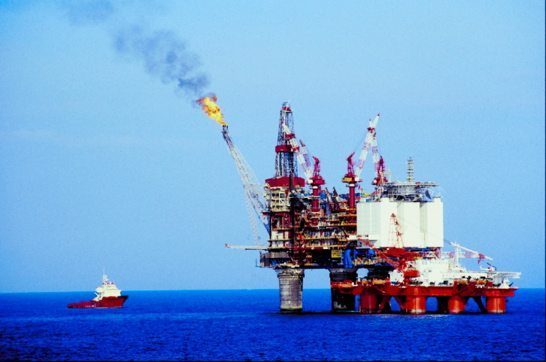 Oil Rigs supply our addiction to oil