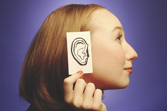 ear, drawing, woman