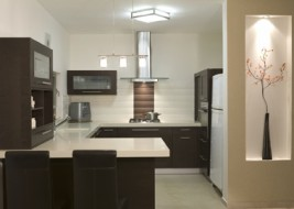 Kitchen designed by Faizi Urban Design