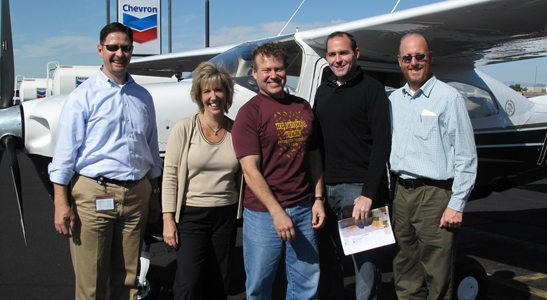 EcoFlight, sustainable environment, Photo: Valley Forward