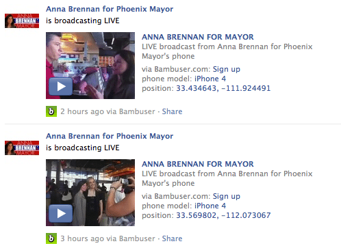 Anna Brennan Facebook, Election Social Media
