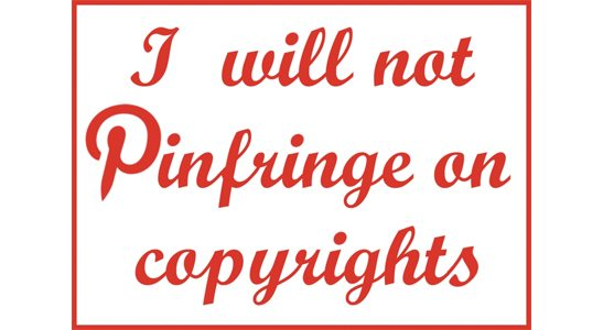 Pinterest Copyright Issues