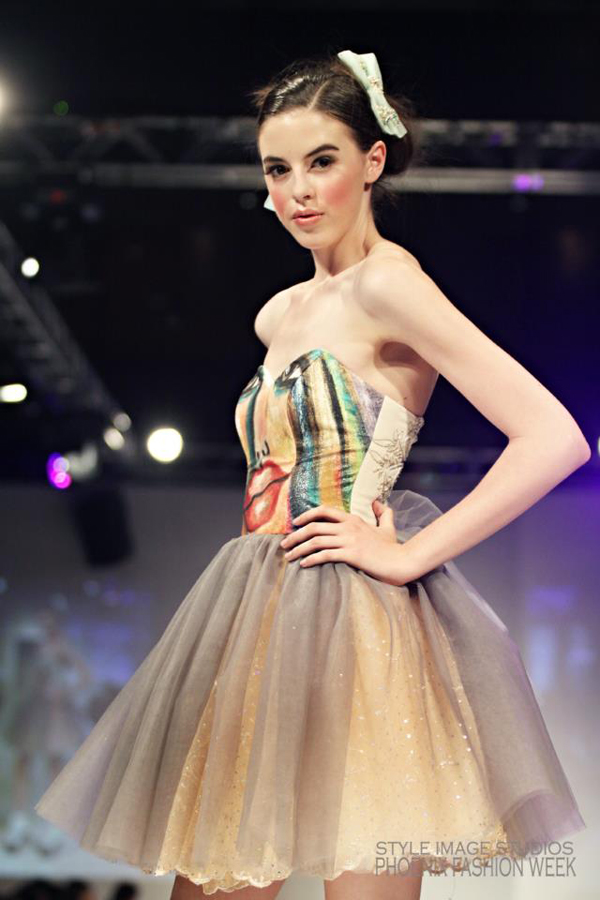 Silvia Bours, Photo: Style Image Studios, Phoenix Fashion Week