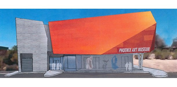The Phoenix Art Museum would anchor the retail portion of the project.