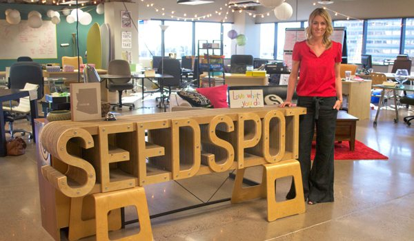 As co-founder and CEO of SEED SPOT, Courtney Klein has created a culture and environment that is unique and empowering for entrepreneurs in the Phoenix community. Photo by Robin Sendele, AZ Big Media
