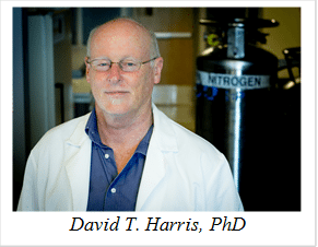 David T. Harris, PhD, professor of immunology at the University of