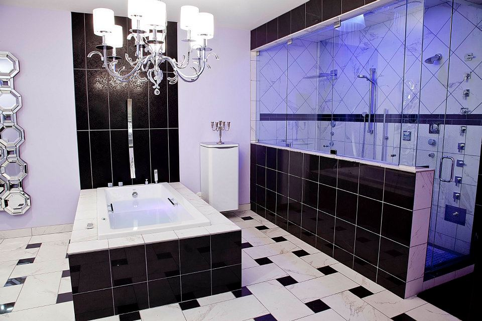 A look at high-tech bathroom features
