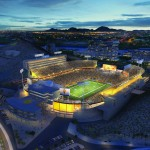ASU Athletics Facilities District redering