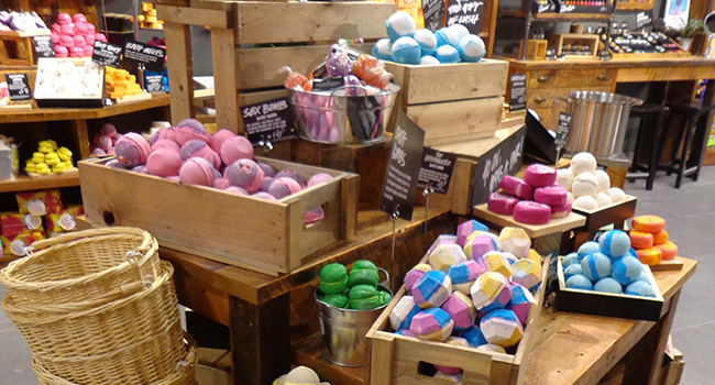 Lush clothing store locations