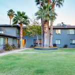 28 on Thomas is a 27-unit community located at 1225-1241 E. Thomas Road in Phoenix. (Photo courtesy of CBRE)