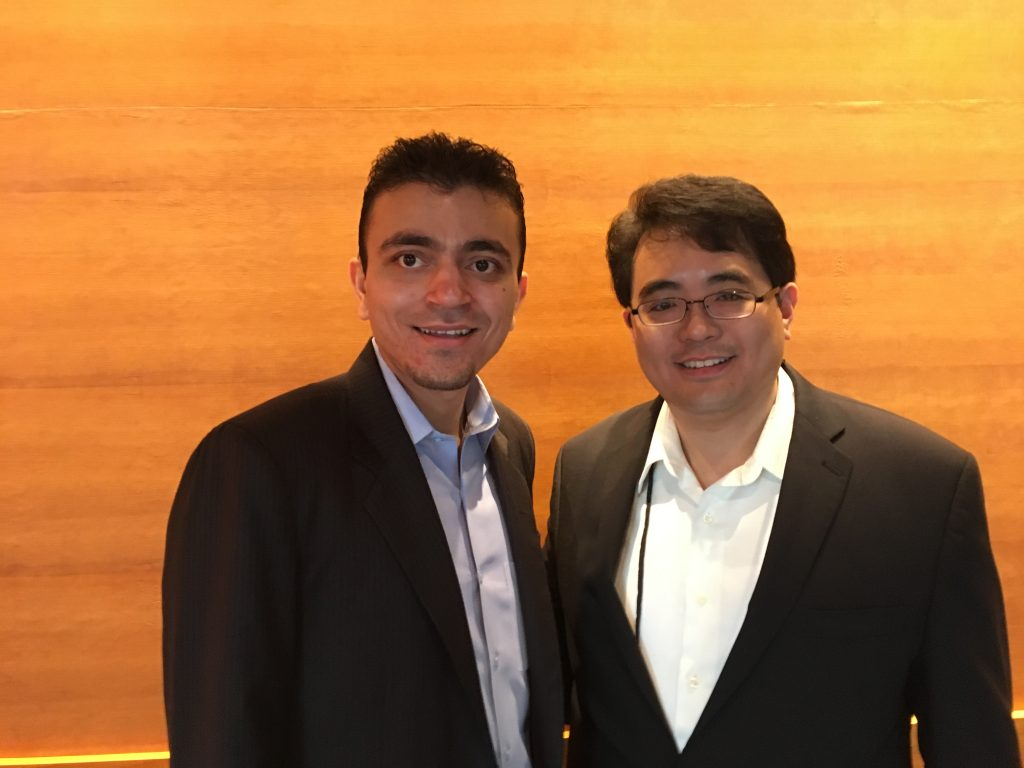 Founders of EpiFinder: Neel Mehta, right, and Robert Yao, left. (Photo courtesy of EpiFinder)