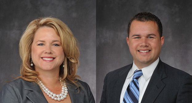 Sheila Bale and Ryan O'Connor (Photos courtesy of Cushman & Wakefield)